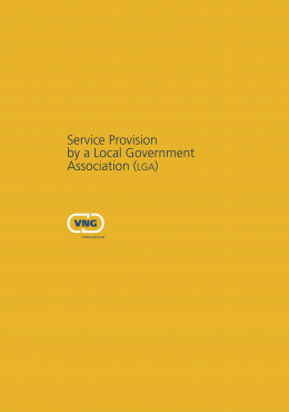 Service Provision by a Local Government Association